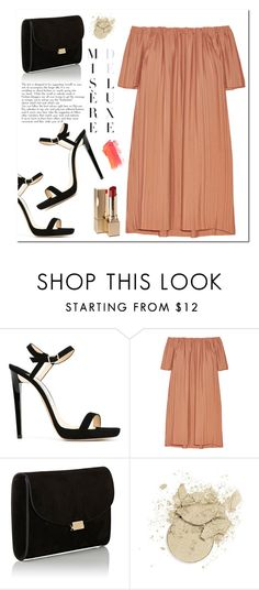 """""""Spring Dress"""" by christinacastro830 ❤ liked on Polyvore featuring Jimmy Choo, ADAM and Mansur Gavriel"""
