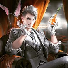Bugs Bunny by sakimichan