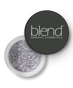 Love this Silver Glitter Powder by Blend Mineral Cosmetics on #zulily! #zulilyfinds