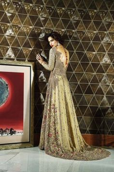 Image result for pakistani bridal couture 2016