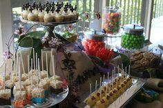 Butterfly Dessert Bar