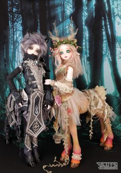 LUTS - Ball Jointed Dolls (BJD) company :: Delf, Bluefairy, Blythe, Doll items like wig, clothes, shoes and Doll faceup materials Fairy World & Fantastic Creatures Keka❤❤❤