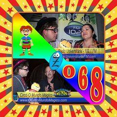 Programa Zmaro 068: Radialista Suzy de Jesus, Circo O Mundo Mágico e mais...