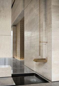 建E室内设计网 Church Architecture, Architecture Details, Interior Architecture, Modern Interior, Home Interior Design, Interior Decorating, Wall Cladding Designs, Bathroom Design Inspiration, Bathroom Design Luxury