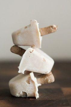 Peanut Butter Frozen Yogurt Treats {for dogs} by Jessie Erwin