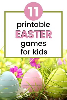 As we head into spring, it's time to start planning some Easter fun. Don't miss these printable Easter games for kids of all ages! Easter Games For Kids, Easter Play, Easter Crafts For Kids, Easter Ideas, Activities For Teens, Easter Activities, Creative Activities, Printable Games For Kids, Kids Board