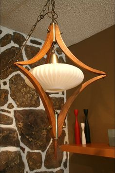 Nelson Teak Swag Lamp Birthday Present From My Love This Find Pin And More On Mid Century Modern
