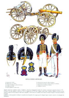 NAP- Britain: British Royal Horse Artillery, by Daniel Lordey. British Army Uniform, British Uniforms, Waterloo 1815, Battle Of Waterloo, Lead Soldiers, Toy Soldiers, Military Art, Military History, Royal Horse Artillery