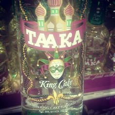 Cocktail ideas for king cake vodka Mardi Gras Pinterest Cake