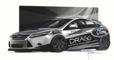 Ford Focus SEMA concepts Drag Racing Against Gangs & Graffiti (DRAGG)