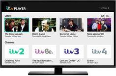 Watch ITV1, ITV2, ITV3, ITV4, ITVbe and CITV. from abroad via ITV Player