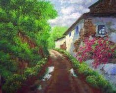 Resultado de imagen de paisajes al oleo impresionistas