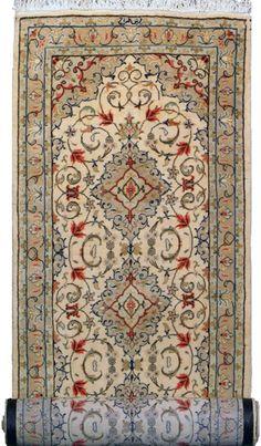 "Tabriz Persian Rug, Buy Handmade Tabriz Persian Rug 3' 3"" x 13' 1"", Authentic Persian Rug"