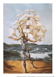 Das Schiff Kunstdrucke von Salvador Dalí bei AllPosters.de