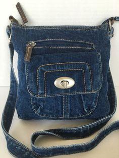 Bag Denim Jeans Crossbody Messenger Hip Designer Fashion Boho  #Unbranded #MessengerCrossBody