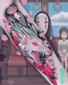 I think I saw the animated short of this. very cool tattoo!