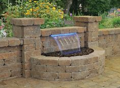 Ideal water feature for patio or outdoor living space