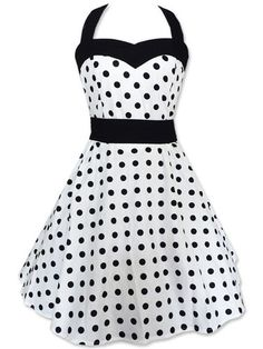 Rockabilly 50s Vintage Retro Polka Dots Pin Up Corset Gothic Swing Evening Dress