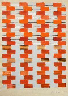 Gunta Stölzl, Bauhaus Dessau 1925-1931, Designs for Fabrics. Quilty inspiration.