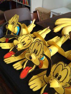 Traktatie fruit banaan hond