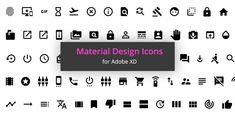 Adobe XD Icons