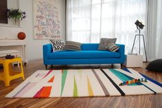"""Family"" Rug by Novogratz for CB2"