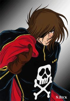 Hobbies To Relieve Stress Anime Toon, Old Anime, Manga Anime, Space Pirate Captain Harlock, Dylan Dog, Captain My Captain, Sand Toys, Hobby Photography, Remo
