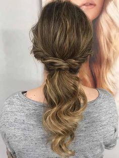 Los #recogidos para #invitadas más bonitos del mundo - Trenza semi recogido Marie Claire, Your Hair, Hair Beauty, Long Hair Styles, Makeup, Cute, Wedding, Hairstyles, Play