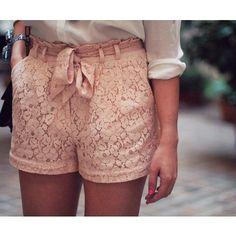 Lace Shorts :)