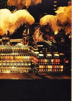 biba make-up counter 1970's