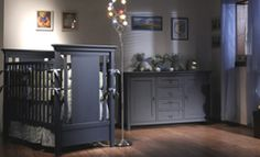blue nursery furniture. Romina Furniture Karisma Stationary Crib In Blue Finish Nursery G