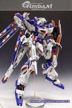 Hi-Nu Gundam - Customized Build Modeled by Japanese Robot, Japanese Models, Gundam Mobile Suit, Gundam Custom Build, Gundam Seed, Frame Arms, Gunpla Custom, Gundam Art, Girls Anime