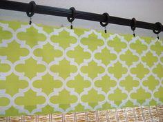 Kitchen Curtain Kitchen Valance Modern by CreativeTouchDecor, $20.95