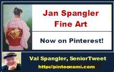 #Art #Pinterest Jan Spangler Fine Art is now on Pinterest. pinterest.com/janspangler http://janspanglerfineart.com