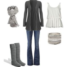 grey clothes | White & Gray | Clothes