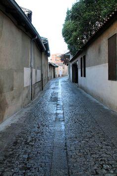 Una de las Calles con un sabor mas especial por su tranquilidad y su diferencia con el resto de las calles de #Valladolid es la calle de Santo Domingo de Guzman, por donde parece que los años han pasado mas lento que por el resto de la ciudad.