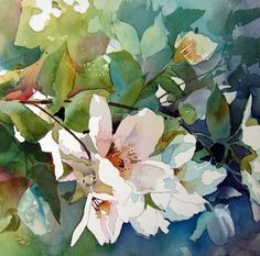 watercolor painting by Aud Rye