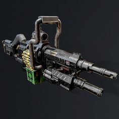 This gun can be used for short and long