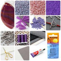 Naszyjnik St. Perersburg Chain | Royal-Stone blog Beaded Jewelry Designs, Bead Jewellery, Seed Bead Jewelry, Seed Beads, Rakhi, Jewelry Making Tutorials, Chain, Stone, Blog