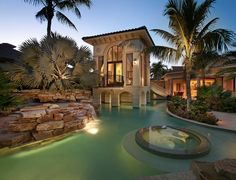 Amazing integrated pool & house - so much to love here...