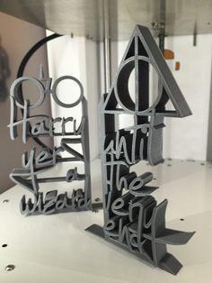 Harry Potter - serre-livres décoratifs imprimés 3D