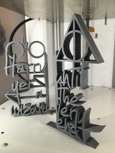 Harry Potter - 3D Printed Bookends from Bespoke3DPrinting on Etsy