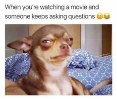 I do this so much people probably hate me when watching movies