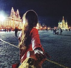 """Follow Me Photo Series: Man takes photos from around the world with his girlfriend leading the way in every shot.  Murad Osman's intimate photo collection """"Follow Me"""" has become an internet sensation over the past few days, thanks to the beautiful scenes he captures and the undeniable sweetness of each shot."""