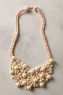 Cascading Orbs Necklace--wendy mink--anthro