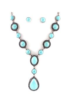Turquoise Libby Necklace Set