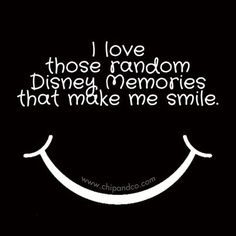 I love random Disney memories that make me smile :) Making memories with our family is the best!