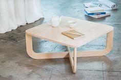table basse bois junddo