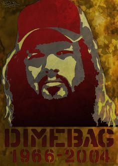 Dimebag Darrell - stencil by xHaStexo on DeviantArt