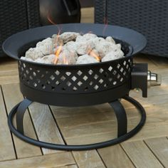 $100 looks black?, don't want bronze  very good reviews, puts out a lot of heat Bond 18.5 in. Portable Bronze Propane 50k BTU Campfire Fire Pit - Propane Fire Pits at Hayneedle